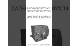 ВЫСОКОВОЛЬТНЫЙ ЭЛЕКТРОДВИГАТЕЛЬ ДАП-1250-3-1500УХЛ4