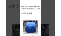ВЫСОКОВОЛЬТНЫЙ ЭЛЕКТРОДВИГАТЕЛЬ АЗ12-34-4Т4