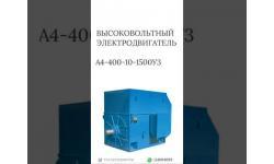 ВЫСОКОВОЛЬТНЫЙ ЭЛЕКТРОДВИГАТЕЛЬ А4-400-10-1500УЗ