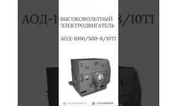 ВЫСОКОВОЛЬТНЫЙ ЭЛЕКТРОДВИГАТЕЛЬ АОД-1000/500-8/10Т1
